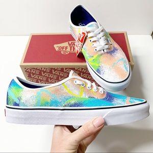 Vans Authentic Retro Mart Colorful Sneakers Tiedye